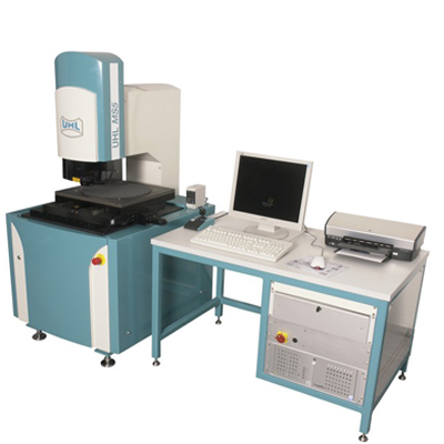 Opto-electronic measuring microscope